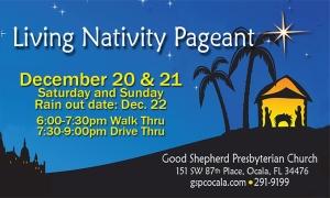 Ocala Living Nativity Pageant